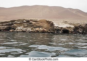 The Paracas Candelabra - Peru - Andes culture - The Paracas...