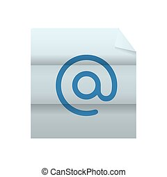 email icon. Email design. Vector graphic - Email concept...