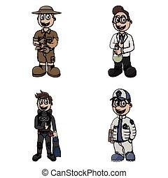 profession illustration design