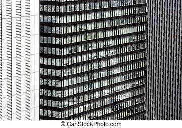 Wall of Buildings in Tokyo