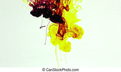 Ink Paint Spread in Water