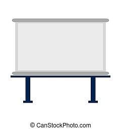 marker board icon - flat design marker board icon vector...