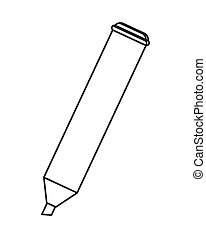 highlighter marker icon