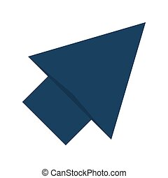 up arrow icon - flat design up arrow icon vector...