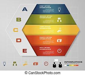 5 steps presentation template. - 5 steps presentation...