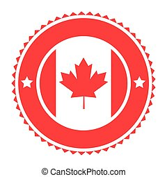 canadian badge icon