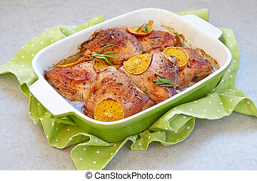 Chicken thighs rosemary Stock Photo Images. 202 Chicken thighs ...