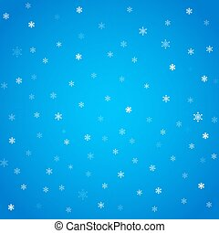 Background with snowflakes