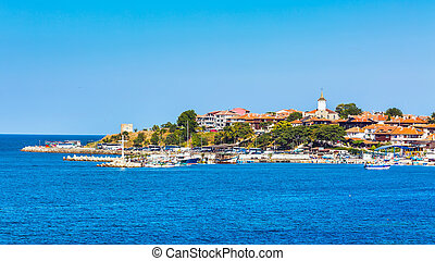 Old Town of Nesebar in Bulgaria by the Black sea - Old town...
