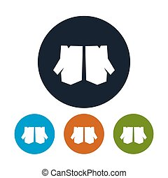 Four Types of Round Icons Work Gloves - Icon Work Gloves,...