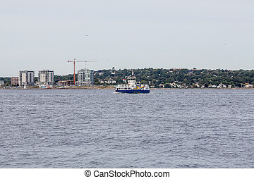 Ferry in Halifax Harbor