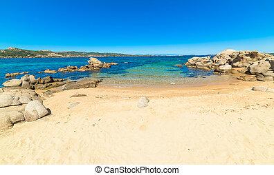 white beach in Costa Smeralda - Cala dei GInepri in Costa...