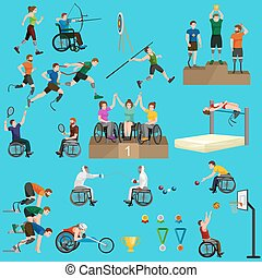 sport for people with prosthesis, physical activity and...