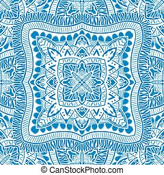 Vector seamless blue pattern