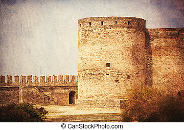 ancient castle - photo of the beautiful ancient castle on...