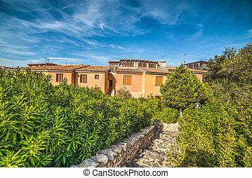 houses in Porto Rotondo in Costa Smeralda, Sardinia