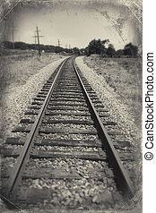 Train tracks with in Luray, VA - Train tracks with in Luray,...