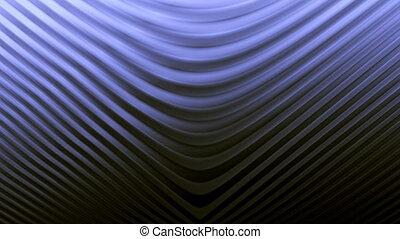 Abstract animated glowing gold background