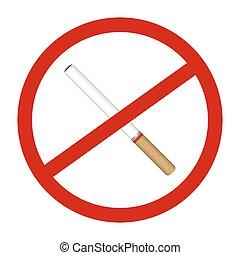 no smoke cigarette icon signs - a no smoke cigarette icon...
