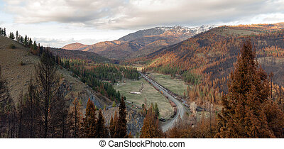 Highway 395 Strawberry Mountain Wilderness Oregon State - A...