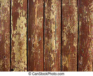 background of peeling paint on old  wall