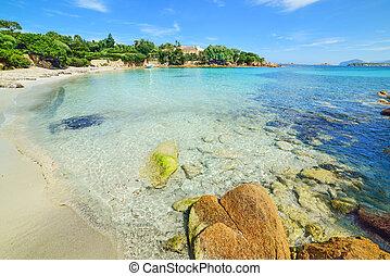 Spiaggia del Principe in Costa Smeralda, Italy