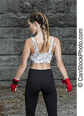 Getting stronger every day - Cropped shot of a sportswoman...