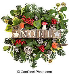 Noel Greeting Sign