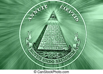Eye of Providence, Beams from Eye every which way - Element...