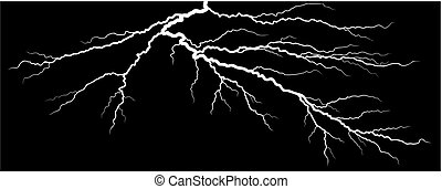 Lightning stroke.