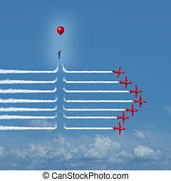 Disruptive Change - Disruptive change as an outsider person...