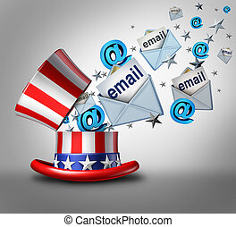 American Election Email Crisis - American election email...