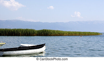 Ohrid lake in summer - picture of a Ohrid lake in summer...