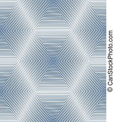 Ornate vector abstract background with white lines Symmetric...
