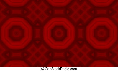 Seamless loop animation kaleidoscope. HD Resolution