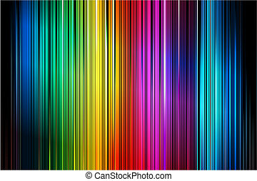 Abstract Colorful Vertical Striped Pattern Background -...