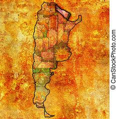 formosa region territory - formosa region with flag on map...