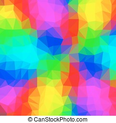 Abstract triangular background - Crazy abstract triangular...