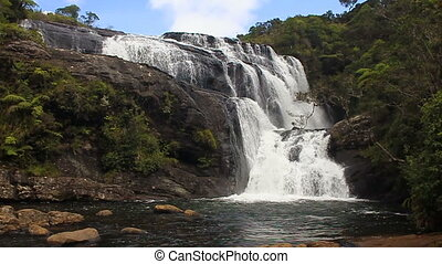 Bakers falls Sri Lanka - Bakers falls. Horton plains...