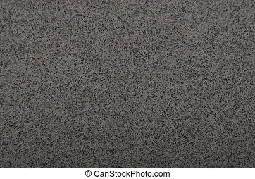 Textured polystyrene foam background - Close up of black...