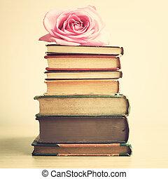 Årgång, böcker, hög