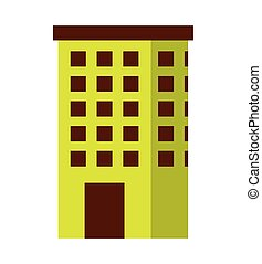 building green ecology icon