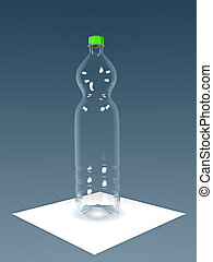 PET bottle - An image of an typical PET bottle