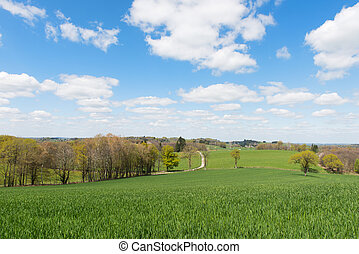 Landscape in France - Landscape in French Limousin