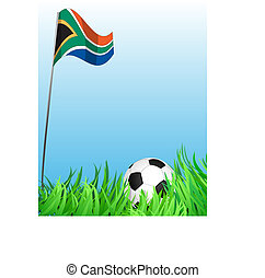 soccer playground, world cup theme