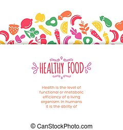 Healty food background representing vegetables and fruits...
