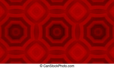 kaleidoscopic animation background - VJ Fractal red...