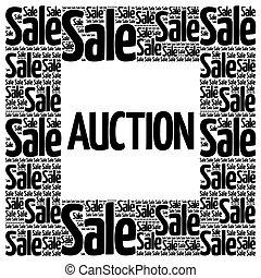 AUCTION words cloud