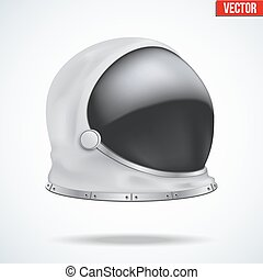 Astronaut helmet with reflection glass - Astronaut helmet...
