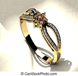Ring with Diamonds